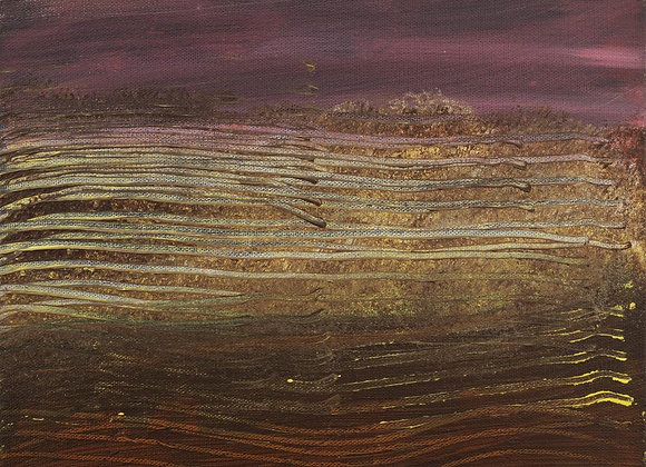 Untitled - 12in x 12in x 2in - SOLD