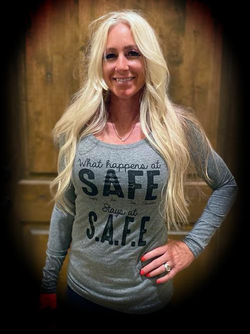 What happens at SAFE Stays at SAFE