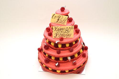 Macaron Cake Deposit Price