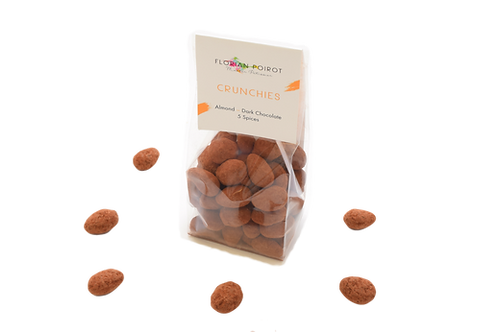 Crunchies  Almond - Dark Chocolate COLLECT 5 Spices
