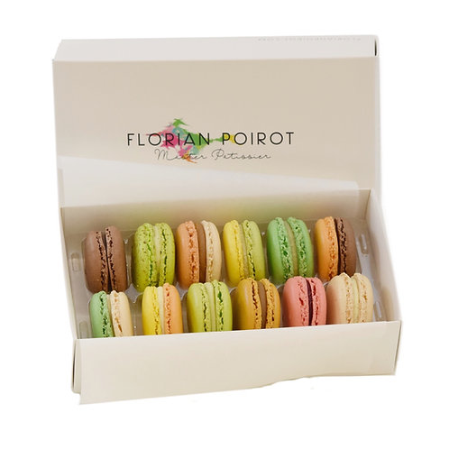 Box of 12 Assorted Macarons COLLECT