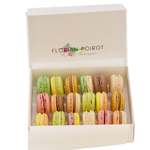 Box of 18 Assorted Macarons
