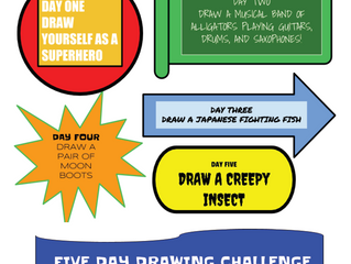 Take the 5 Day Drawing Challenge!