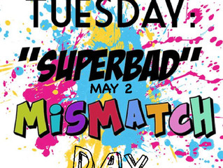 Mismatch Day! May 2nd