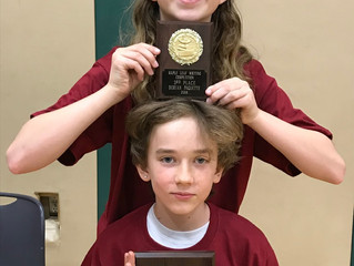 Academy Stars Win 1st and 3rd place in Maple Leaf Writing Contest