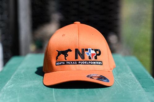 Hunter Orange fitted hat