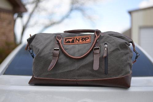NTP  weekender bag in grey
