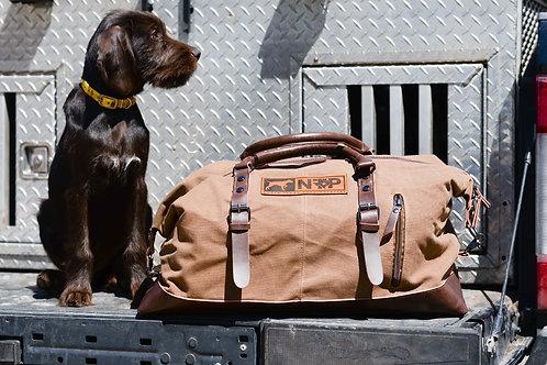 NTP  weekender bag in brown