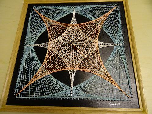 Tableau String Art Déco