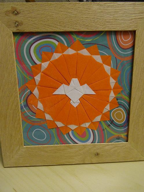 Tableau Le Saint-Esprit en Origami