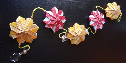 Laksartes déco et bijoux origami