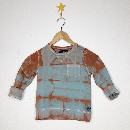 Vintage Baby Crew:Orange Cloud