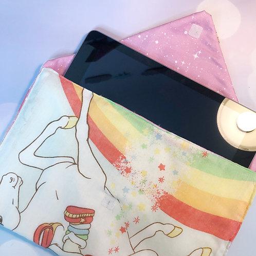 Envelope Clutch: Rainbow Brite