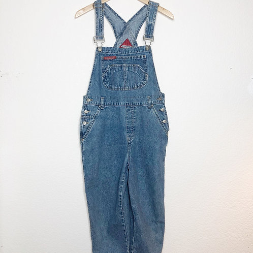 1990's No Boundaries Cropped Overalls