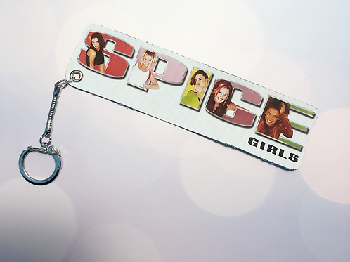 """Spice Girls """"Hit Clips"""" Key Chain"""