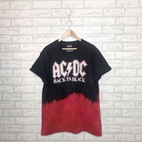 Dip Dye Tee: AC/DC Firestorm Tee