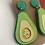 Thumbnail: Extra Guac Avocado Earrings