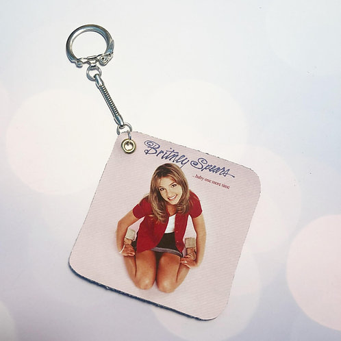 """Britney Spears """"Hit Clips"""" Key Chain"""