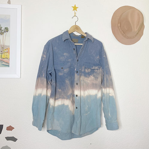 Geode Flannel Jacket: Celestite