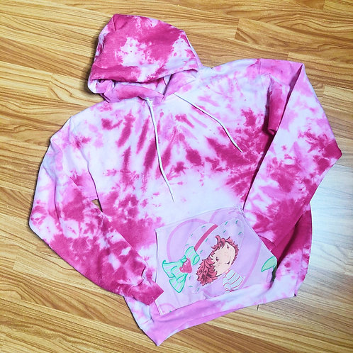 Pocket Cartoon Sweatshirt: Strawberry Shortcake