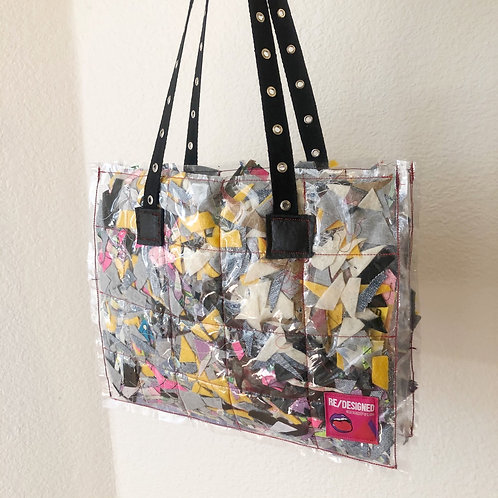 Recycled & Scrapped Shoulder Bag