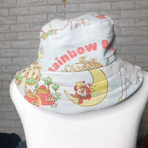 Reclaimed Bucket Hat: Rainbow Brite