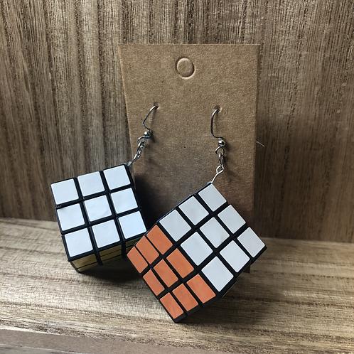 Rubix Cube Earrings
