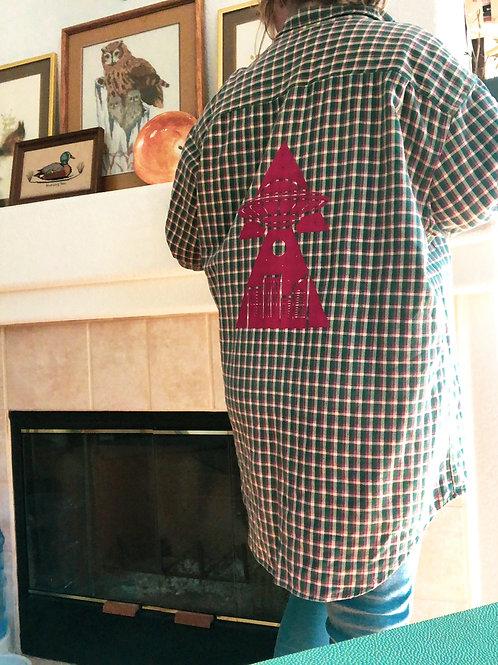 City Abduction Flannel Jacket