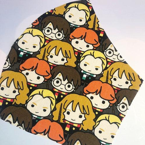 Harry Potter Cartoon Kids Face Mask