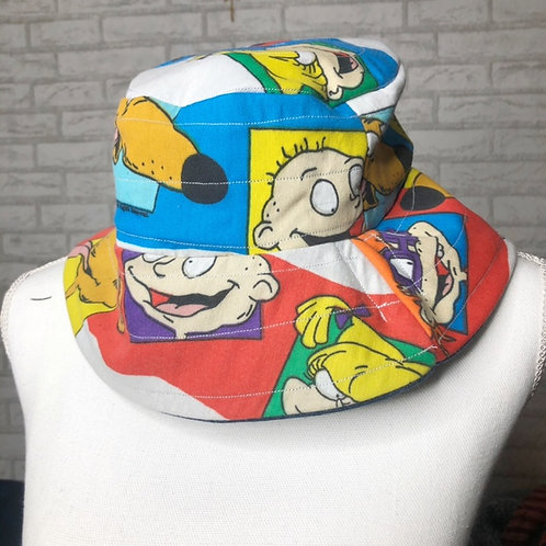 Reclaimed Bucket Hat: Rugrats