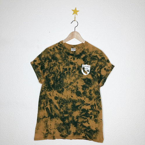 Retro Bleached Fish & Game Tee