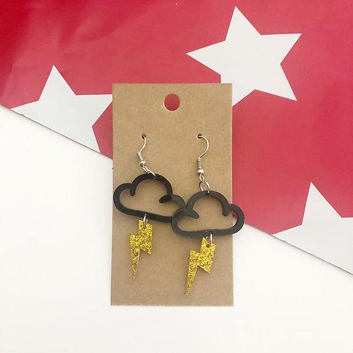 Lightning Storm Earrings