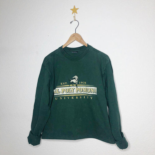 Cropped Cal Poly Dad Tee