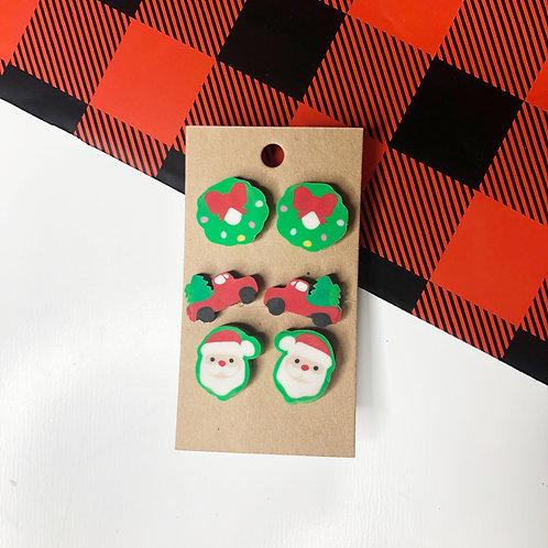 Christmas Town Earring Set
