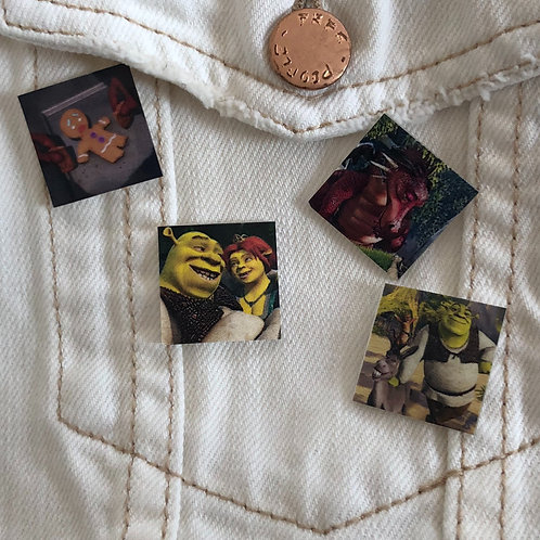 Pin Set: Shrek