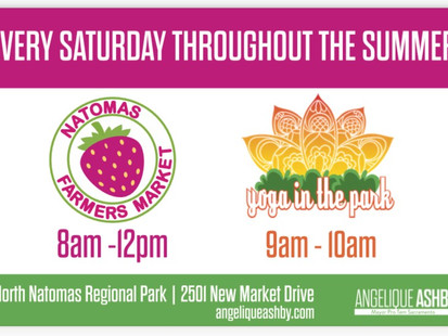 Mayor Pro Tem Angelique Ashby to launch Certified Farmers' Market at North Natomas Regional Park