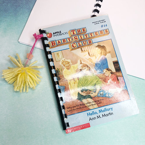 1988 Nostalgic Notebook: Babysitters Club #14