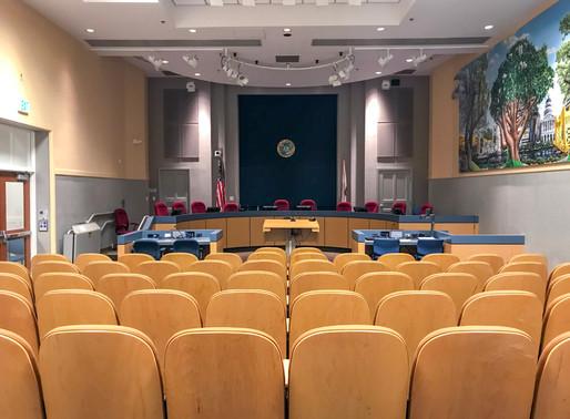 Luella Johnston Historic Hearing Room