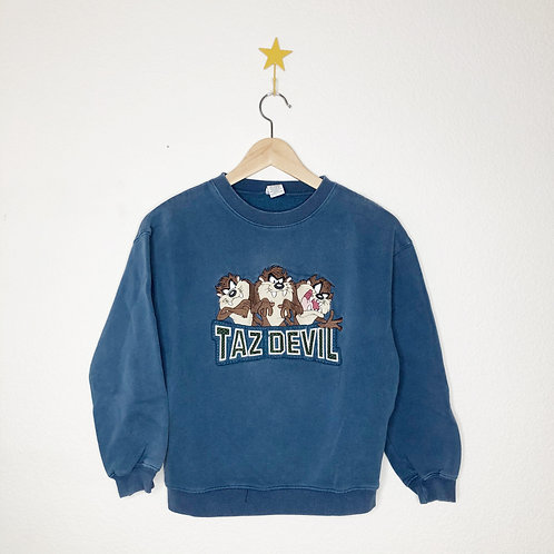 1998 WB Taz Devil Crew Neck
