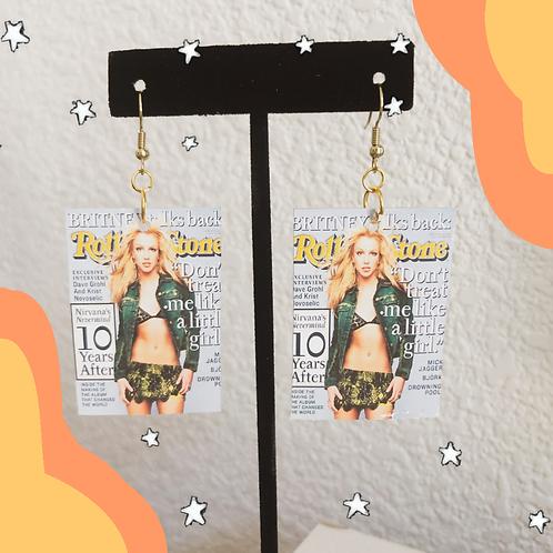 Rolling Stone: Britney Talks Back! Earrings