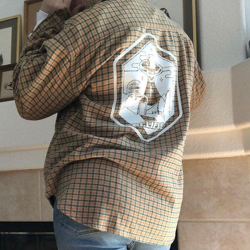 Farmhouse Abduction Flannel Jacket