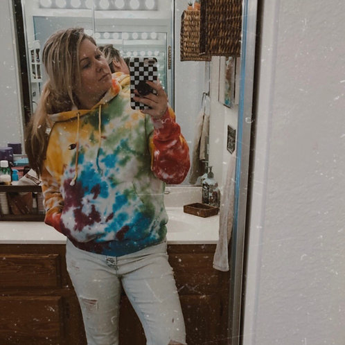 Rainbow Bright Hooded Sweatshirt