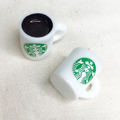 Cozy Coffee Mug Earrings
