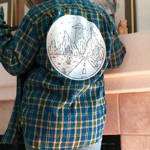 Desert Abduction Flannel Jacket