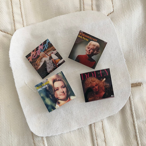 Pin Set: Dolly Parton