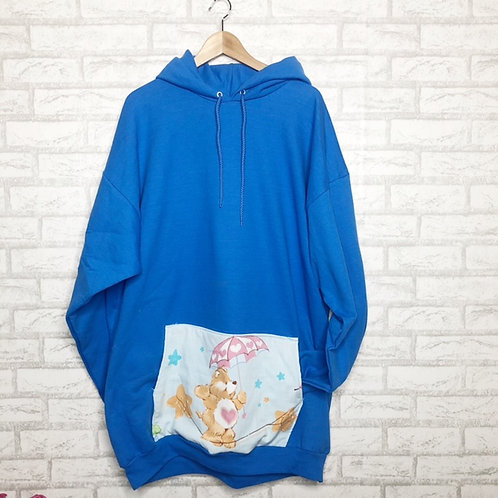 Pocket  Sweatshirt:Tender Heart Bear Care Bear
