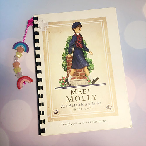Nostalgic Notebook: An American Girl, Meet Molly