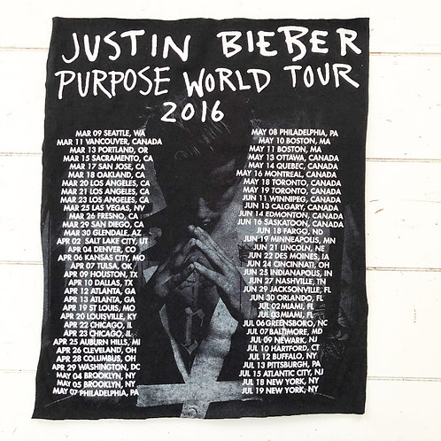 Flannel Add-On: Justin Bieber Tour Dates
