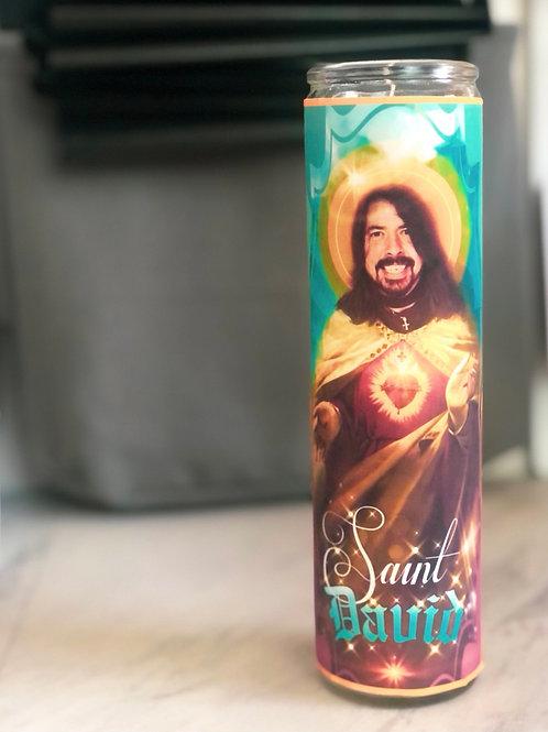Saint David Candle
