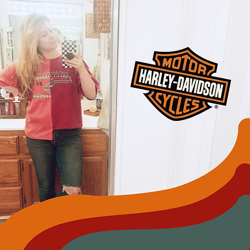 Split Lane Harley Tee